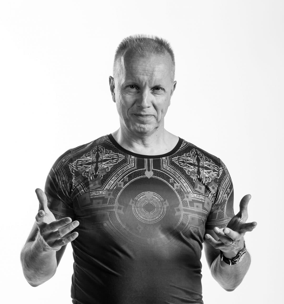 Tulevaisuustutkija ja työyhteisövalmentaja Ilkka Halava.